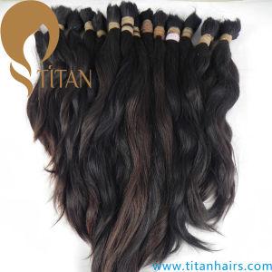 Full Cuticle Kept Virgin Human Hair Bulk pictures & photos