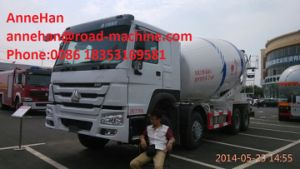 Sinotruk New 2017 Concrete Mixer Truck 6X4 10cbm Eton or Bonfiglioli Pump / Reduction Box / Motor 10tires with 1 Spare