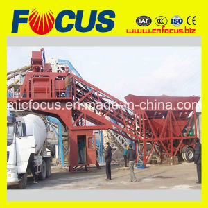 25-100m3/H Mobile Concrete Mixer Plant with Low Price pictures & photos