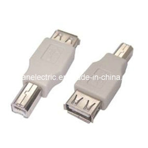 USB a Female to USB B Male Adapter pictures & photos