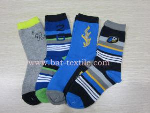 Kids Cotton Socks (BAT-CR004) pictures & photos