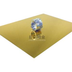 Titanic Gold Color Printing Mirror Aluminium Sheet for ACP/ Decoration/ Cosmetic (C6300.23)