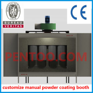 Manual Powder Coating Booth with Recycle System for Aluminium Profile pictures & photos