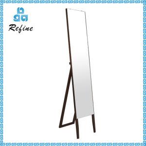 Hairdressing Furniture Black Standing Mirror