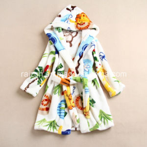 Children Leisurewear Flannel Bathrobe for Wholesale pictures & photos