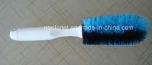 Plastic Double Wire Car Tire Cleaning Brush pictures & photos