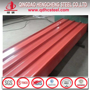 Prepainted Corrugated Sheet Color Coated Roofing Metal Sheet pictures & photos
