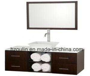 Modern Wooden Bathroom Furniture (BA-1143) pictures & photos