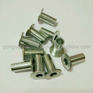 D7338c 8X18 White Zinc Plated Steel Tubular Rivets