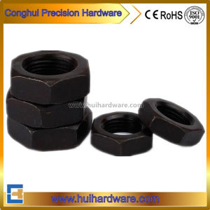Hot Sale Fine Thread Thin Hex Nuts Jam Hex Nuts pictures & photos