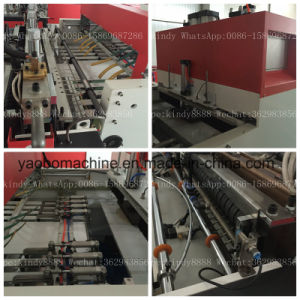 Ybhq-450*2 Automatic Plastic T-Shirt Bag Making Machinery pictures & photos