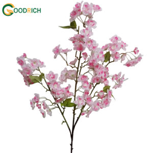 Cherry Blossom Bush Artificial Flower pictures & photos
