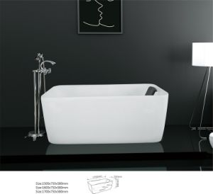 New Hot Rectangle Classical Acrylic Bathtub (BNG4009)