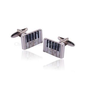 Stylish Elegance Silver Cufflinks Wedding Gifts for Men and Women