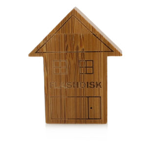 for The Wooden House U Disk Manufacturers Wholesale Fashion U Disk 8 G 16 G Gifts U Disk Can Custom Logo pictures & photos