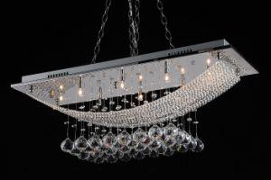 Chrome Plated Flush Mount G4 Crystal Ceiling Lighting