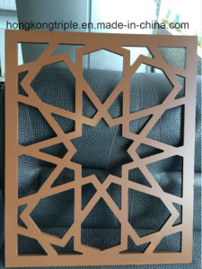 Customized Aluminum Mashrabiya Cladding by CNC Cutting