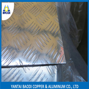 Aluminum Checker Plate 1060, 1100, 3003, 3105, 5052, 5754, 6061 pictures & photos