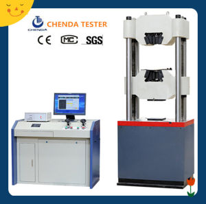 Waw-600d Computer Control Servo Hydraulic Universal Testing Machine pictures & photos