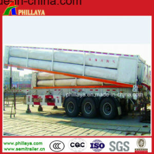 CNG Tube Truck Trailer / Gas Tanker Semi Trailer / CNG pictures & photos