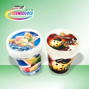 Food Grade in Mold Label for Ice Cream Container pictures & photos