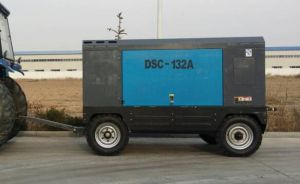 Diesel Driven Screw Compressor, Portable pictures & photos