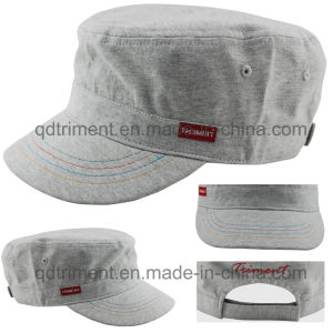 Comfortable Knitted Jersey Cloth Leisure Military Cap (TMM8126-1) pictures & photos