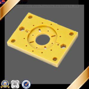 Wk C738 Custom Plastic Blocks CNC Precision Brass Aluminium Block Titanium CNC Machining Parts pictures & photos
