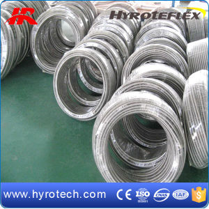 SAE 100r14 Stainless Steel Braided PTFE Hose pictures & photos