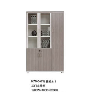 Hot Sale Modern Office Wooden File Cabinet (H70-0675) pictures & photos