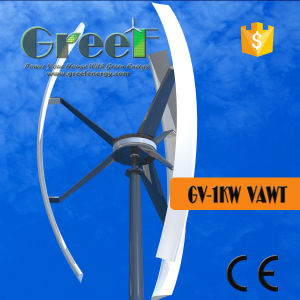 1kw Vertical Axis Wind Turbine with Controller and Inverter pictures & photos
