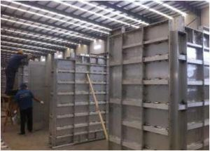 6060-T6 Aluminum Formwork for Building Construction/Concrete Formwork System