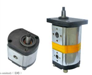 Hydraulic Gear Oil Pump Cast Aluminum Alloy Cbk-G1008 pictures & photos