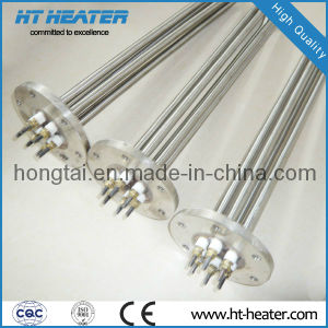 High Temperature Flat Flange Immersion Heater pictures & photos