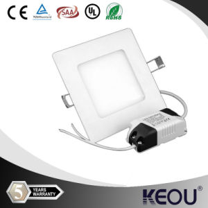 Qualified Ultra Slim 6W Square Flat LED Downlights pictures & photos