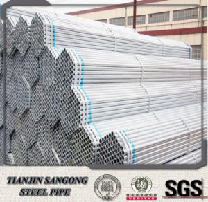 Welded Scaffolding Gi Steel Pipe pictures & photos