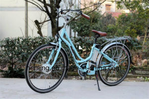 "26"" City Electric Bike with Shimano Inner 3 Speeds pictures & photos"