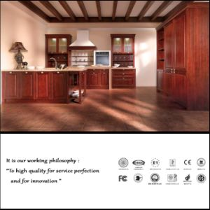 American Wooden Kitchen Cabinet (ZH18) pictures & photos