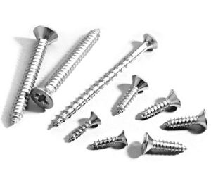 DIN7982 Countersunk Flat Head Tapping Screws with Cross Recessed pictures & photos