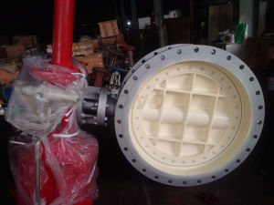 Electric Wafer Butterfly Valve with Flange pictures & photos