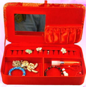 Red Clothing Jewelry Storage Box pictures & photos