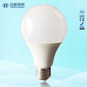 Cheap Price LED Light 15W Plastic Coated Aluminum Globle A60 Compact Lamp pictures & photos