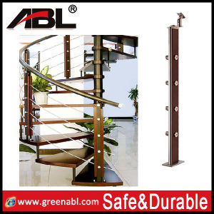 Wood Balcony Balustrade Project for Promotion (DD130) pictures & photos