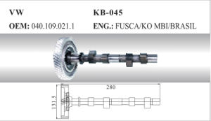 Auto Camshaft for VW (040.109.021.1) pictures & photos