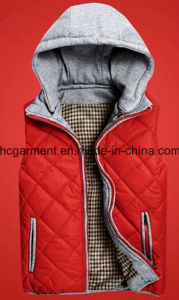 Jackets Outer Wear Winter Hoodie Waistcoat for Man/Women pictures & photos