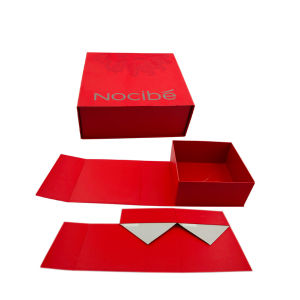 Foldable Paper Cosmetic Box Folding Makeup Box pictures & photos