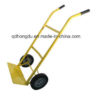 Warehouse Storage Hand Trolley Cart Ht2006 pictures & photos