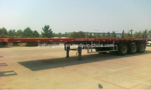 Three Axle 40 FT Container Semi-Trailer pictures & photos