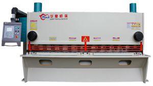 QC11k 10X3200 Hydraulic Guillotine Shearing Machine, Hydraulic CNC Metal Cutter Machine pictures & photos