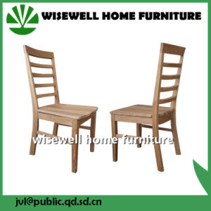 Pine Wood Dining Room Chair in White Color (W-C-431) pictures & photos